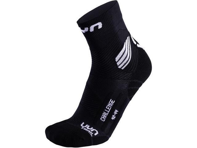 UYN Run Trail Challenge Sokken Heren, zwart